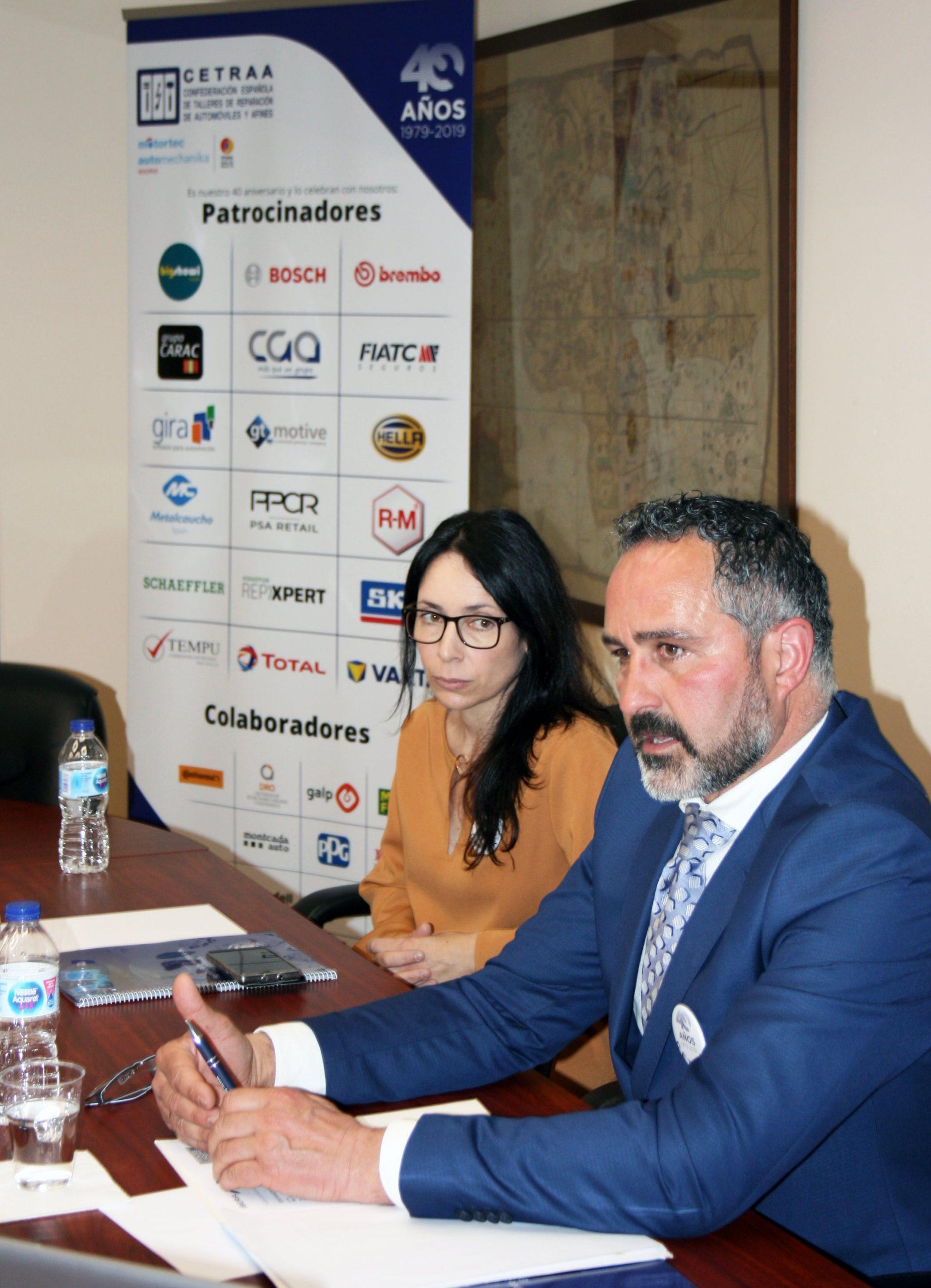 Enrique Fontán valora su segundo año como presidente de CETRAA