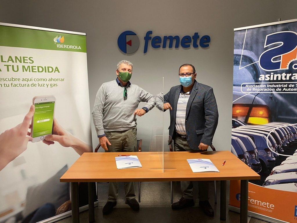 Acuerdo Asintra-Iberdrola para fomentar la movilidad eléctrica